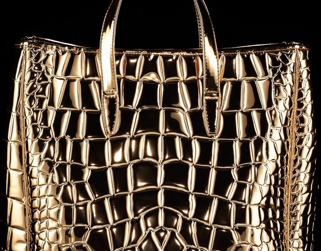gold bag, fashion accessories, luxury accessories, still life photography, David Parfitt, still-life, liquid photography, still-life photography, still-life photographer, still-life photographer London, David Parfitt