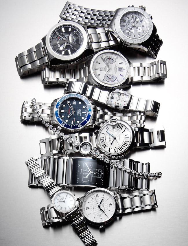 watches on steel, still-life, still life photographer, still life photography, still life photographer London, watches and jewelry watches and jewellery, watches and jewellery photography, watches photography, watches photographer, watch photographer London, fashion photographer, David Parfitt