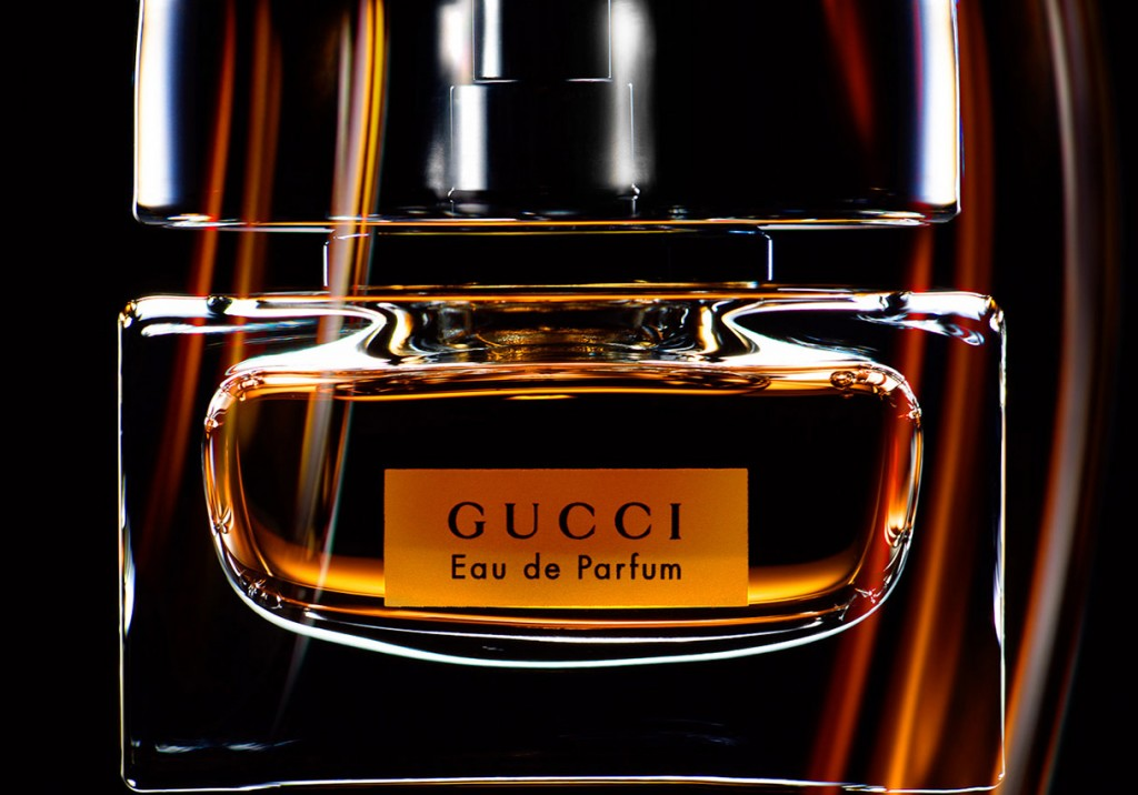 Gucci Eau de Parfum, fragrance still life, Gucci perfume bottle close up, fragrance photography, fragrance photographer, perfume photography, perfume photographer, still life photography, David Parfitt, still-life, still-life photography, still-life photographer, still-life photographer London, David Parfitt, advertising photographer