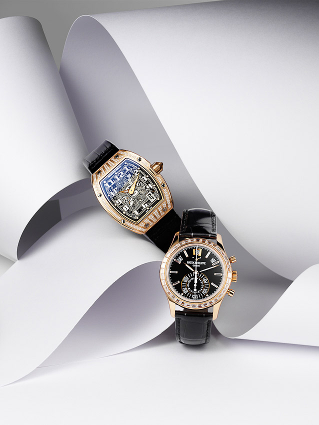 watches,Patek Philippe,Richard Mille,  luxury accessories, watch photographer,   still-life photography, David Parfitt, still-life, still-life photography, still-life photographer, still-life photographer London, David Parfitt, advertising photographer