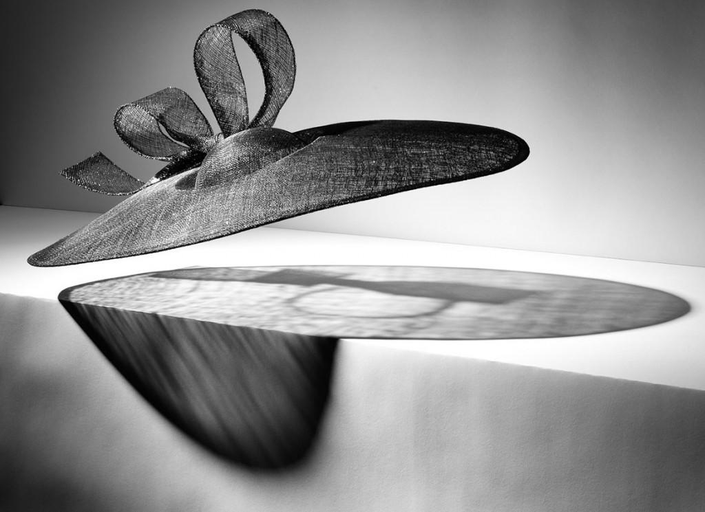still life photography, Stephen Jones hat floating, millinery, fashion accessories, luxury accessories, still life photography, David Parfitt, still-life, still-life photography, still-life photographer, still-life photographer London, David Parfitt