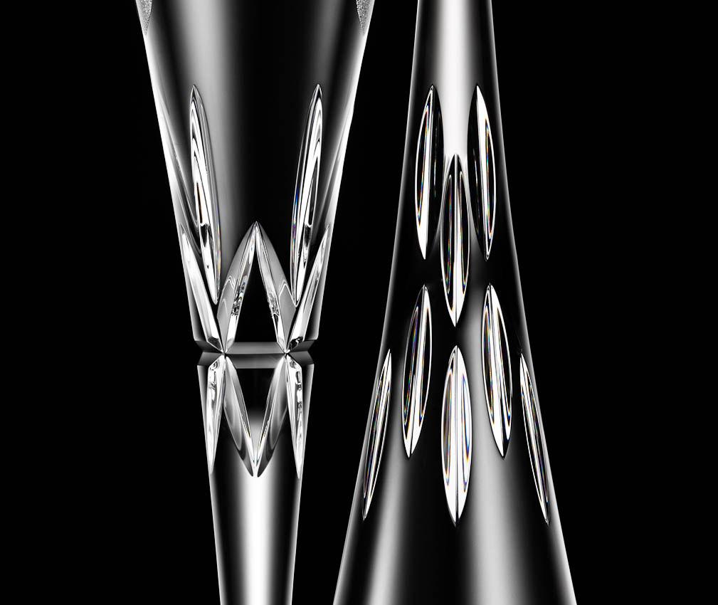 John Lewis Cut Glass, David Parfitt still-life photographer, still-life photography, still-life photographer London, John Lewis glassware.