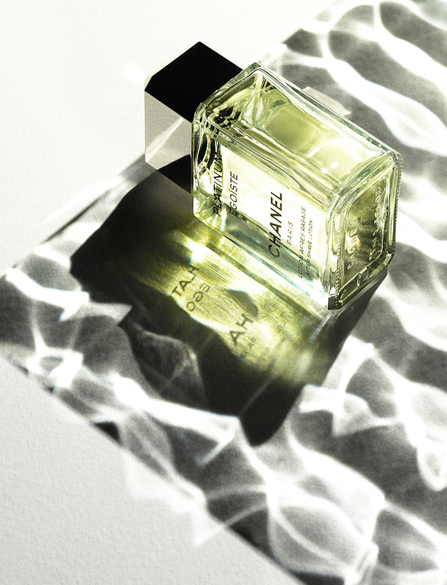 Chanel Egoiste After Shave, Parfitt photographer London