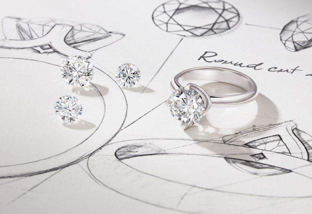 Diamonds and diamond rings